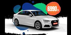 Audi A3 Benzinli Otomatik veya benzeri, Aylık 6990 TL Araç Kiralama Kampanyası