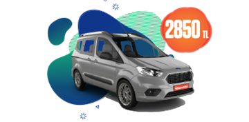 Ford Tourneo Courier ve benzeri, aylık sadece 2850 TL! Araç Kiralama Kampanyası