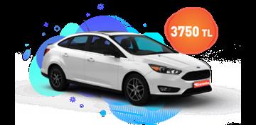 Ford Focus Dizel Manuel ve  benzeri, KDV Dahil Aylık Sadece 3.750 TL Araç Kiralama Kampanyası