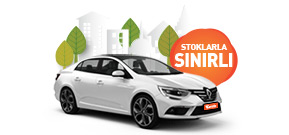 Renault Megane Aylık Sadece 6.030 TL Araç Kiralama Kampanyası