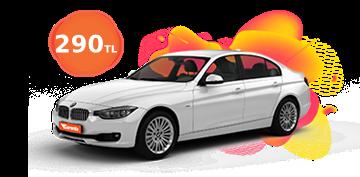 BMW 3 Serisi Günlük 290 TL Araç Kiralama Kampanyası