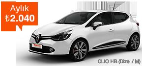 Clio HB, Aralık Sonuna Kadar Çok Avantajlı! Araç Kiralama Kampanyası