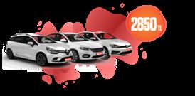 Düşük Yakıt Maliyetli Dizel Araçlar Aylık Sadece 2850 TL Araç Kiralama Kampanyası