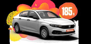 Fiat Egea Benzinli, Manuel Günlük Sadece 185 TL Araç Kiralama Kampanyası