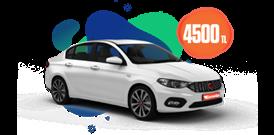 Fiat Egea Dizel, Otomatik Aylık 4500 TL Araç Kiralama Kampanyası