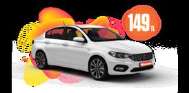 Fiat Egea Benzinli, Manuel ve benzeri Günlük  Sadece 149 TL Araç Kiralama Kampanyası