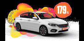 Fiat Egea Dizel, Manuel Günlük Sadece 179 TL Araç Kiralama Kampanyası