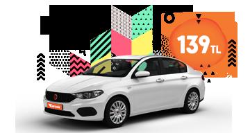 Fiat Egea Günlük Araç Kiralama Kampanyası Garentaday