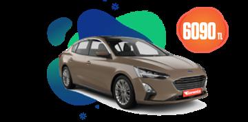 Ford Focus Dizel, Otomatik ve benzeri Aylık Sadece 6.090 TL Araç Kiralama Kampanyası