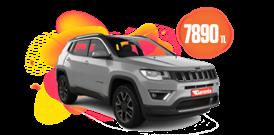 Jeep Compass Benzinli, Otomatik veya benzeri Aylık 7890 TL Araç Kiralama Kampanyası