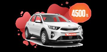 Kia Stonic benzinli, otomatik  veya benzeri Aylık 4.500 TL Araç Kiralama Kampanyası