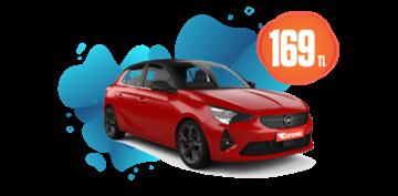 Opel Corsa Benzinli, Otomatik veya benzeri Günlük 169 TL Araç Kiralama Kampanyası