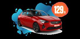 Opel Corsa Dizel, Manuel Günlük Sadece 129 TL Araç Kiralama Kampanyası