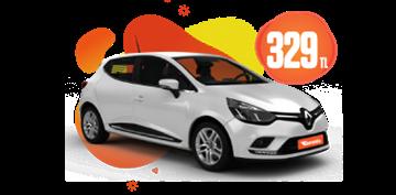 Renault Megane Dizel, Otomatik Hafta İçi Günlük 329 TL, Hafta Sonu Günlük 379 TL! Araç Kiralama Kampanyası