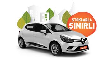 Aylık Sadece 3.240 TL 'ye Renault Clio Fırsatı! Araç Kiralama Kampanyası