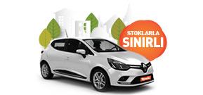 Aylık Sadece 3.840 TL 'ye Renault Clio Fırsatı! Araç Kiralama Kampanyası