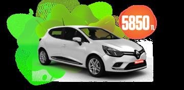 Renault Clio Dizel, Otomatik Aylık Sadece 5.850 TL Araç Kiralama Kampanyası