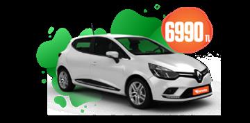 Renault Clio Dizel, Otomatik Aylık Sadece 6.990 TL! Araç Kiralama Kampanyası