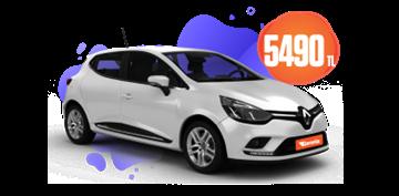 Renault Clio Dizel, Manuel Aylık Sadece 5490 TL! Araç Kiralama Kampanyası