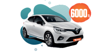 Renault Clio Dizel, Manuel Aylık Sadece 6.000 TL! Araç Kiralama Kampanyası