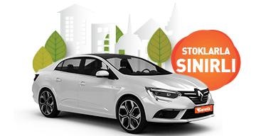 Renault Megane ve benzeri, aylık sadece 4.380 TL! Araç Kiralama Kampanyası