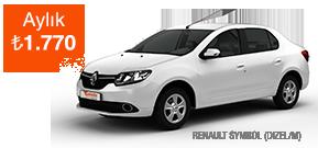 Renault Symbol'da Büyük Avantaj! Araç Kiralama Kampanyası