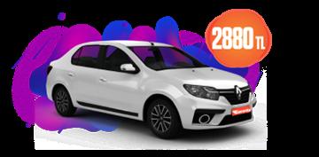 Renault Symbol Dizel Manuel ve benzeri KDV Dahil Aylık Sadece 2.880 TL Araç Kiralama Kampanyası