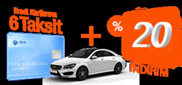 Garenta %20 İndirim Araç Kiralama Kampanyası