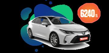 Toyota Corolla Hybrid , Otomatik Aylık 6.240 TL Araç Kiralama Kampanyası