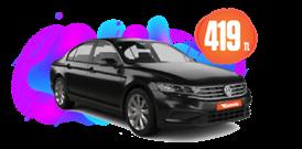 Volkswagen Passat Dizel, Otomatik Günlük Sadece 419 TL! Araç Kiralama Kampanyası