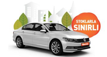 Dizel otomatik Volkswagen Passat aylık sadece 6.030 TL. Araç Kiralama Kampanyası