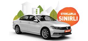 Benzinli otomatik Volkswagen Passat ayda yalnızca 5.640 TL Araç Kiralama Kampanyası