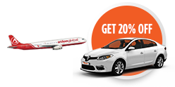 Enjoy Fly and Drive Benefits with Atlasglobal!