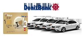 DenizBank Kredi Kartı Müşterilerine %18 İndirim Araç Kiralama Kampanyası
