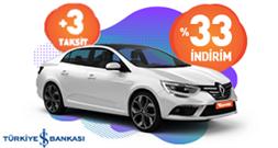 Maximum kartınıza, Garenta'da %33 indirime ek +3 taksit! Araç Kiralama Kampanyası