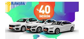 Turkcell'liler %40 İndirimli Kiralıyor! Araç Kiralama Kampanyası