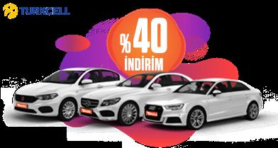 Turkcell İşteKazan Müşterilerine %40 İndirim! Araç Kiralama Kampanyası