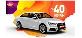 SİM Üyelerine Özel Üst Sınıf Araçlar Garenta'da! Araç Kiralama Kampanyası