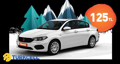 Turkcell Bireysel Hat Müşterilerine Özel Fiat Egea Fırsatı! Araç Kiralama Kampanyası