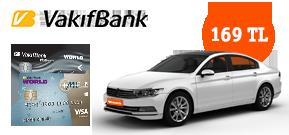 VakıfBanklılar, Yola Avantajlı Çıkar! Araç Kiralama Kampanyası