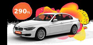 BMW 3 Serisi Günlük 290 TL