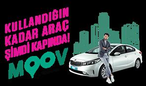 MOOV by Garenta Şimdi Yayında, Kullandığın Kadar Araç Kapında!