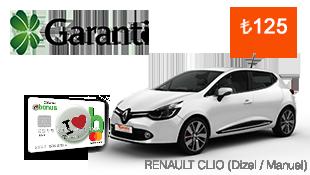 Renaut Clio Kiralamalarında Avantaj Garanti!