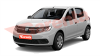 DACIA SANDERO STEPWAY TURBO 90 BG EASY-R EU6 2018