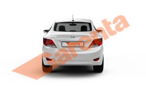 HYUNDAI ACCENT 1.4 D-CVVT MODE PLUS OTM 2018_arka