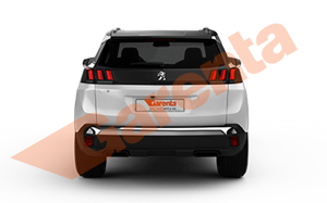 PEUGEOT 3008 ACTIVE 1.6 BLUEHDI 120HP EAT6 2018_arka