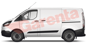 FORD TOURNEO CUSTOM 2.0L ECO 170 320L 8+1 TITAN. PLUS BOOT 2019_yan